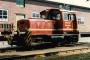 """O&K 26261 - Hafenbahn Hamburg """"221"""" 21.08.1993 - HamburgArchiv Eisenbahnfreunde Mittelholstein e. V."""