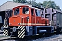 "O&K 26778 - GSG ""DL 3"" 25.09.1985 - Graz-Karlau, Sturzgasse, Lokschuppen der Grazer SchleppbahnBernd Kittler"