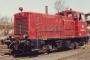 """SACM 10043 - DB """"245 006-2"""" 25.03.1972 - Schwerte, BahnbetriebswerkJürgen Wensorra"""