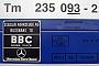 """Stadler 153 - BLS """"Tm 235 093-2"""" 10.12.2005 - SpiezTheo Stolz"""