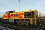 """Vossloh 1001134 - TKSE """"541"""" 20.12.2012 - Duisburg-Ruhrort, Bahnhof HonigstraßeLucas Ohlig"""