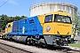 """Vossloh 5001481 - Scheuchzer """"92 85 8840 002-0 CH-SCHEU"""" 11.08.2020 - FrauenfeldTheo Stolz"""